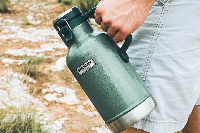 Stanley's 64 oz. vacuum-insulated growler. ($42–45, depending on color)