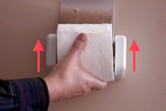 ez-load-toilet-paper-holder