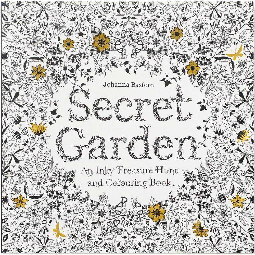 Secret Garden: An Inky Treasure Hunt by Johanna Basford. ($10)