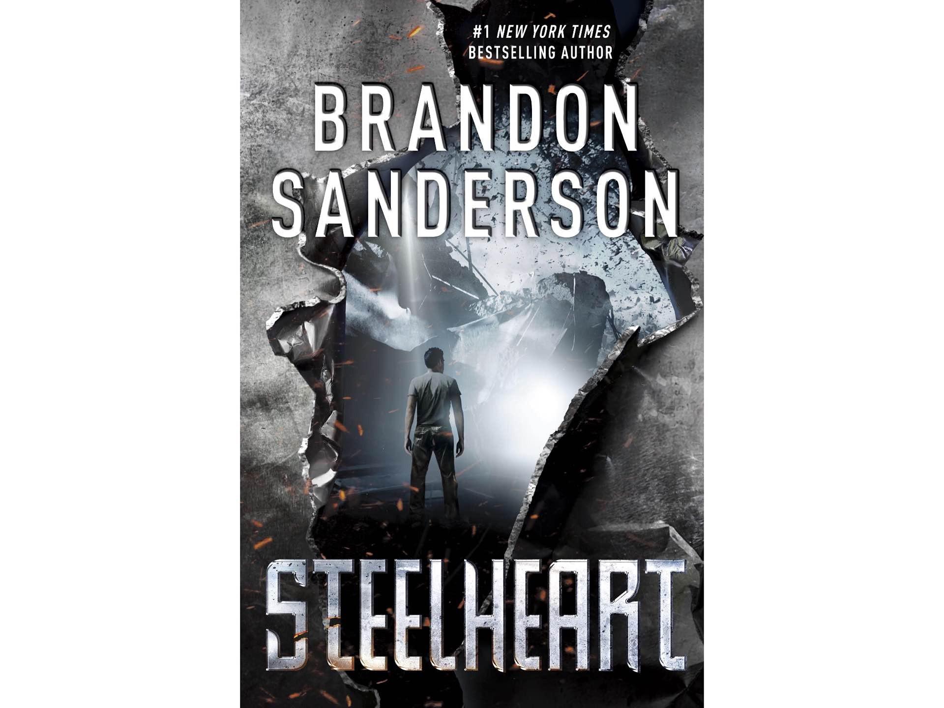 Steelheart by Brandon Sanderson.