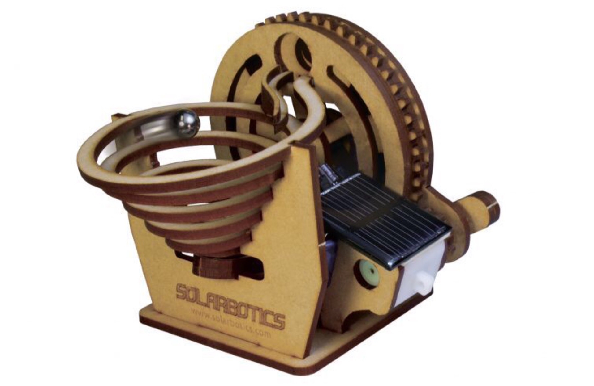 The Solar Marble Machine by Solarbotics. ($43)