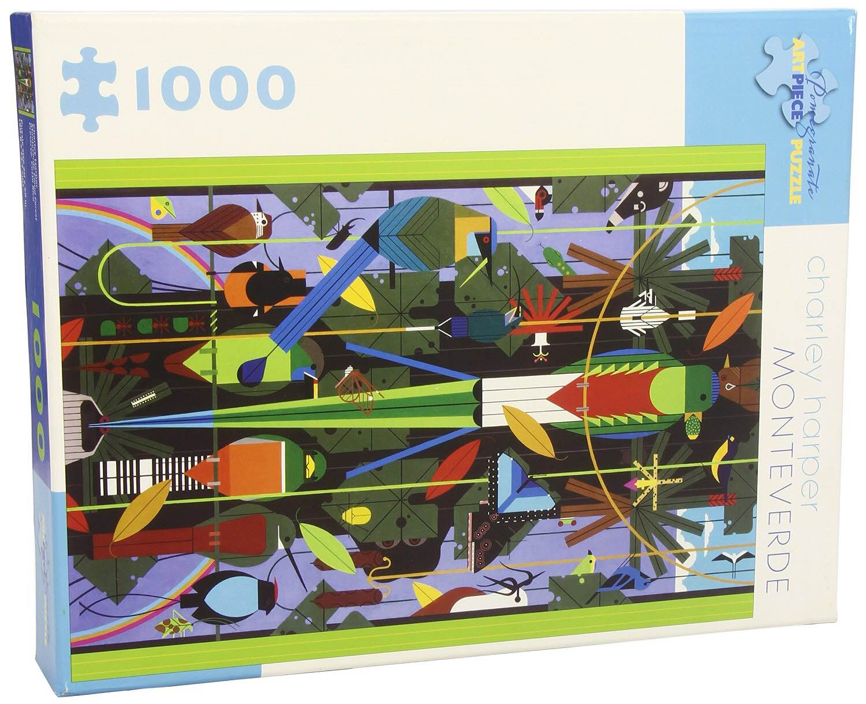 "Charley Harper's delightful ""Monteverde"" puzzle. ($18)"