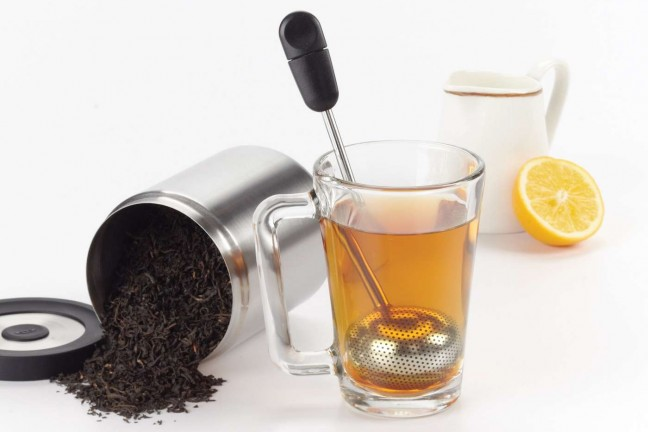 OXO Godo Grips rotating tea ball. ($10)