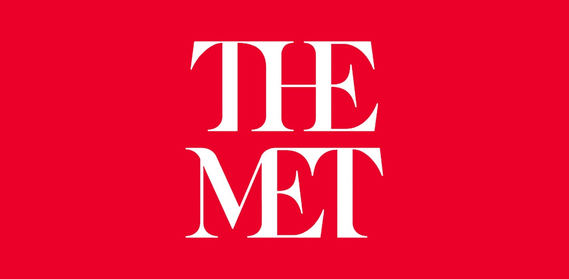The Met's new logo.
