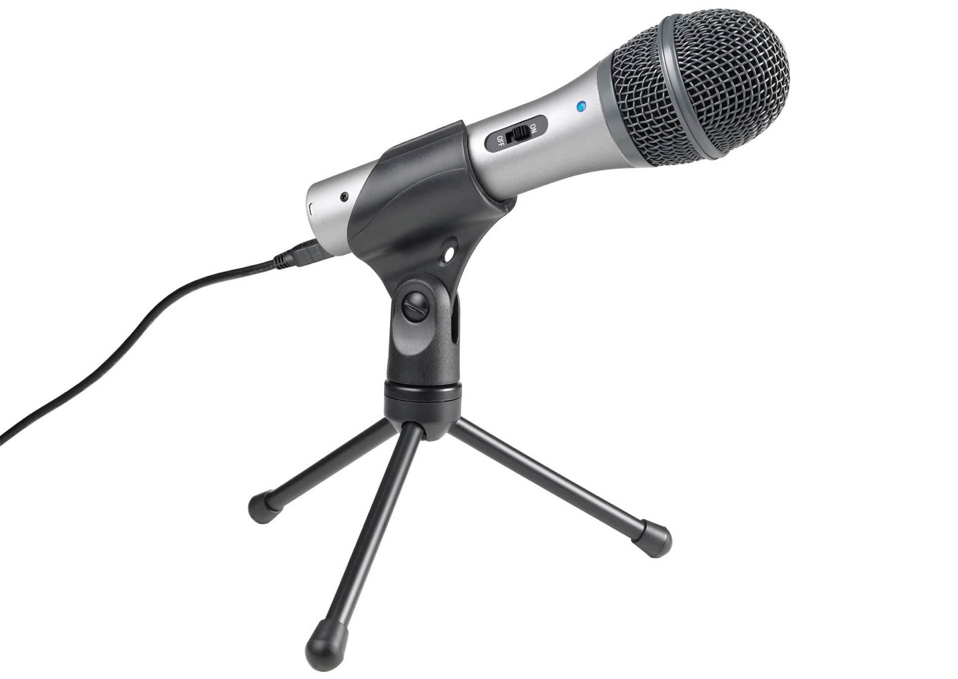 Audio-Technica ATR2100-USB microphone. ($79)