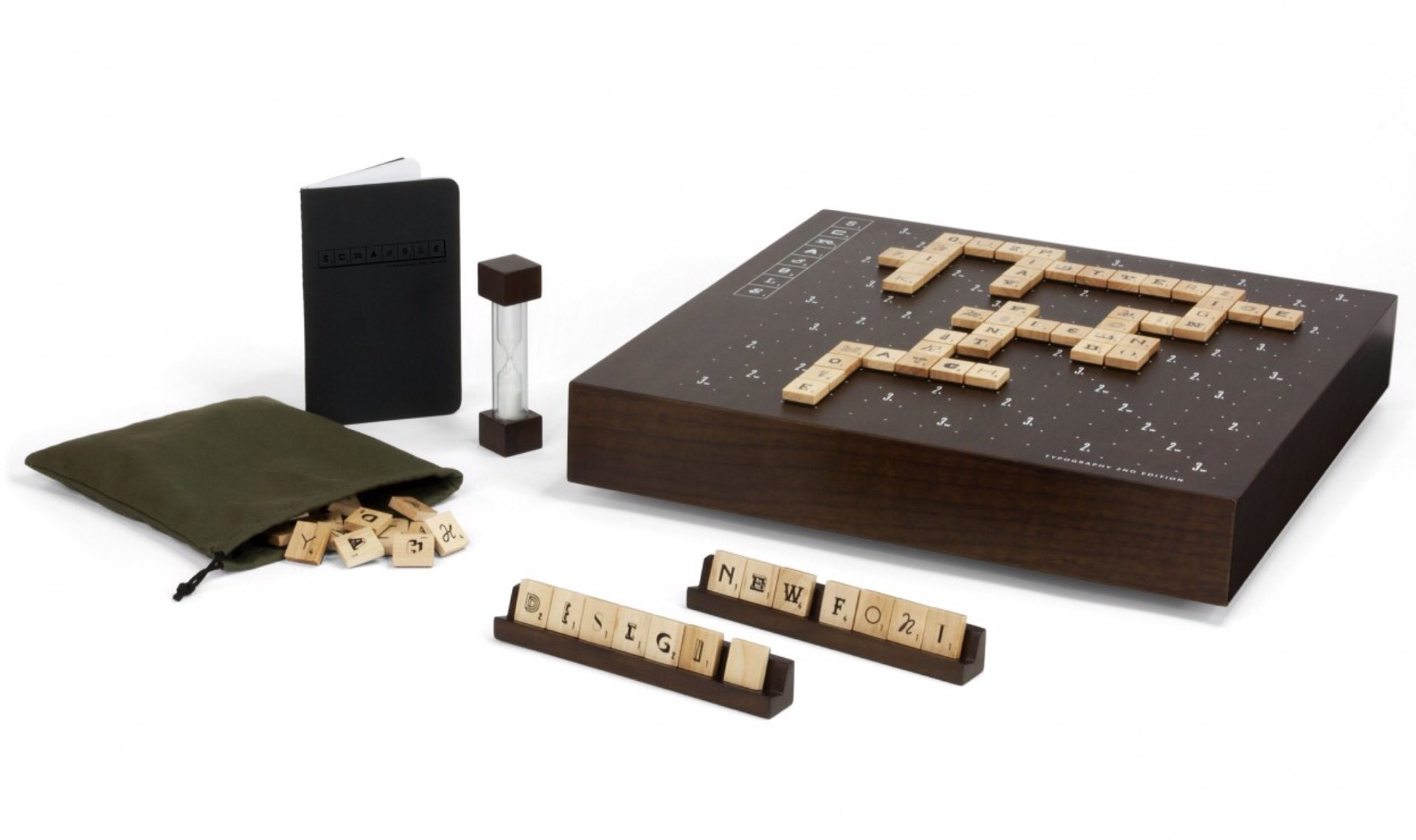 Andrew Capener's Scrabble Typography, 2nd Edition. ($182)
