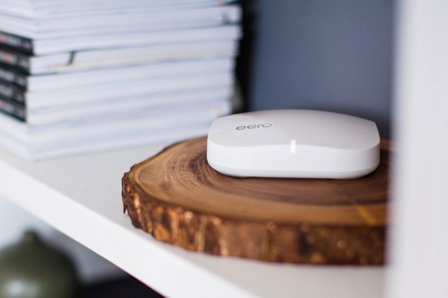 The eero home wi-fi system. ($499 for the [3-pack starter set](http://www.amazon.com/dp/B00XEW3YD6?tag=toolsandtoys-20), or $190 for an [individual node](http://www.amazon.com/dp/B00Y01VRSO?tag=toolsandtoys-20))