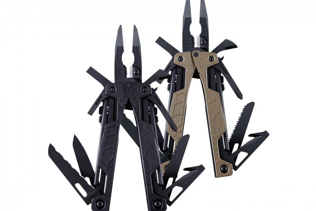 Leatherman OHT one-handed multi-tool. ($80 for [black](http://www.amazon.com/dp/B008069YXA?tag=toolsandtoys-20), $90 for [coyote tan](http://www.amazon.com/dp/B009KR9AJ6?tag=toolsandtoys-20))