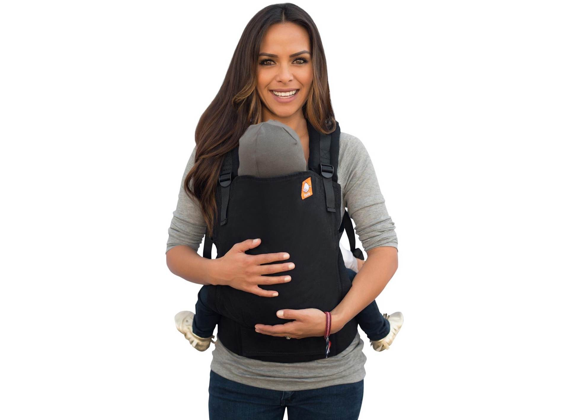 The Tula baby carrier. ($149)