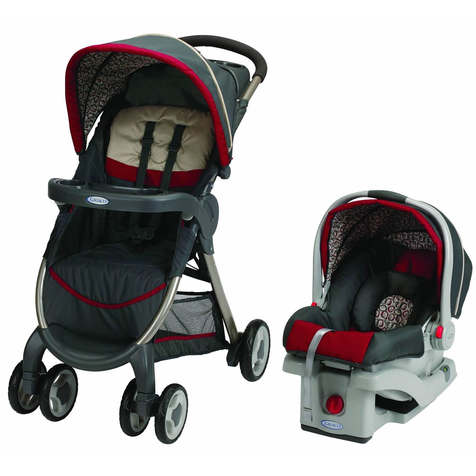 Graco's Click Connect travel system. ($170)