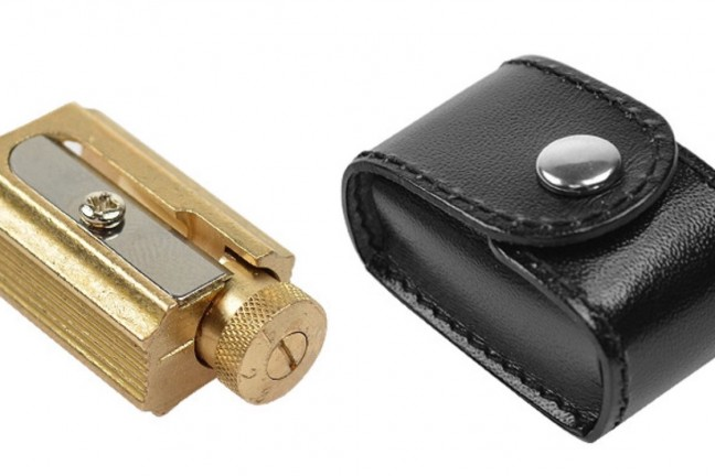 dux-adjustable-brass-pencil-sharpener