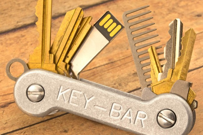 The KeyBar key organizer. ($45–$95, depending on model)