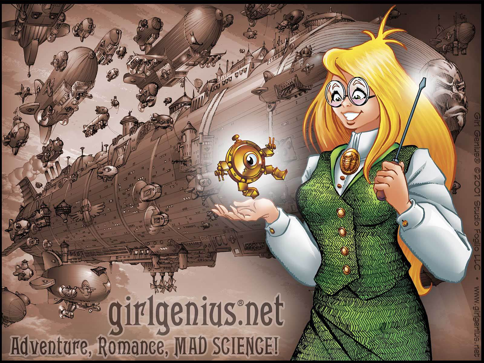 Girl Genius by Phil & Kaja Foglio.