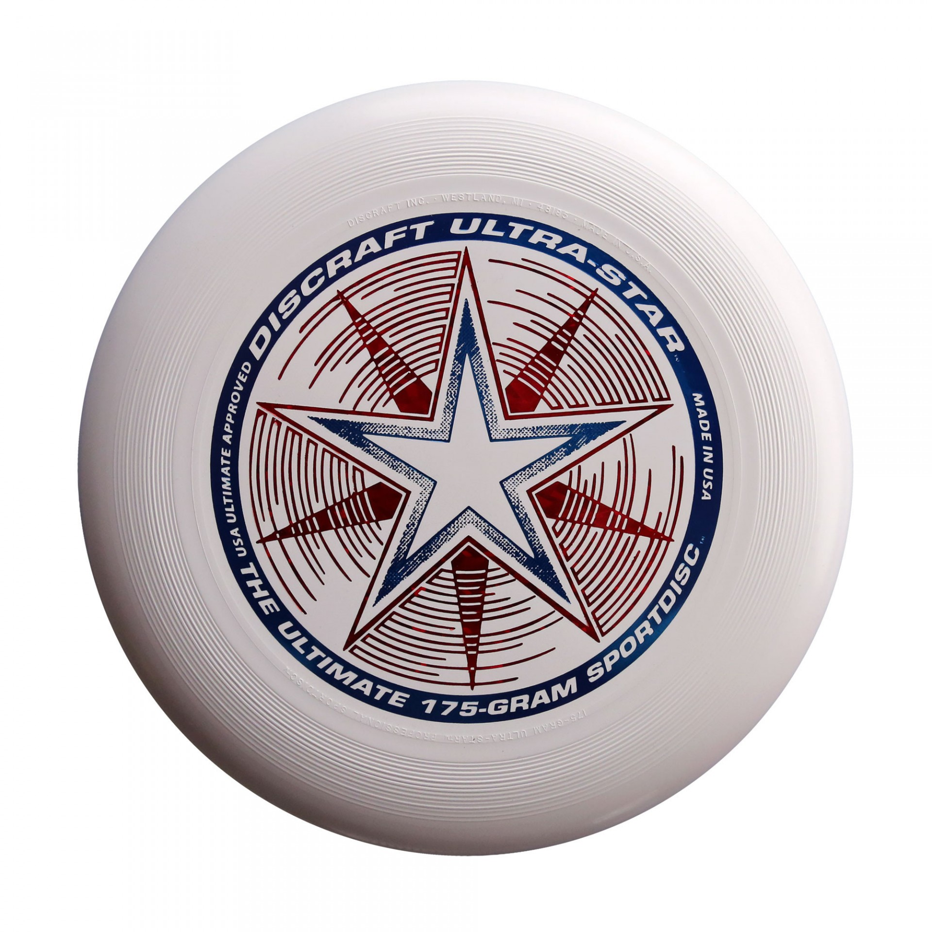 Discraft's Ultra-Star 175-gram flying disc. ($7–$13, depending on color)