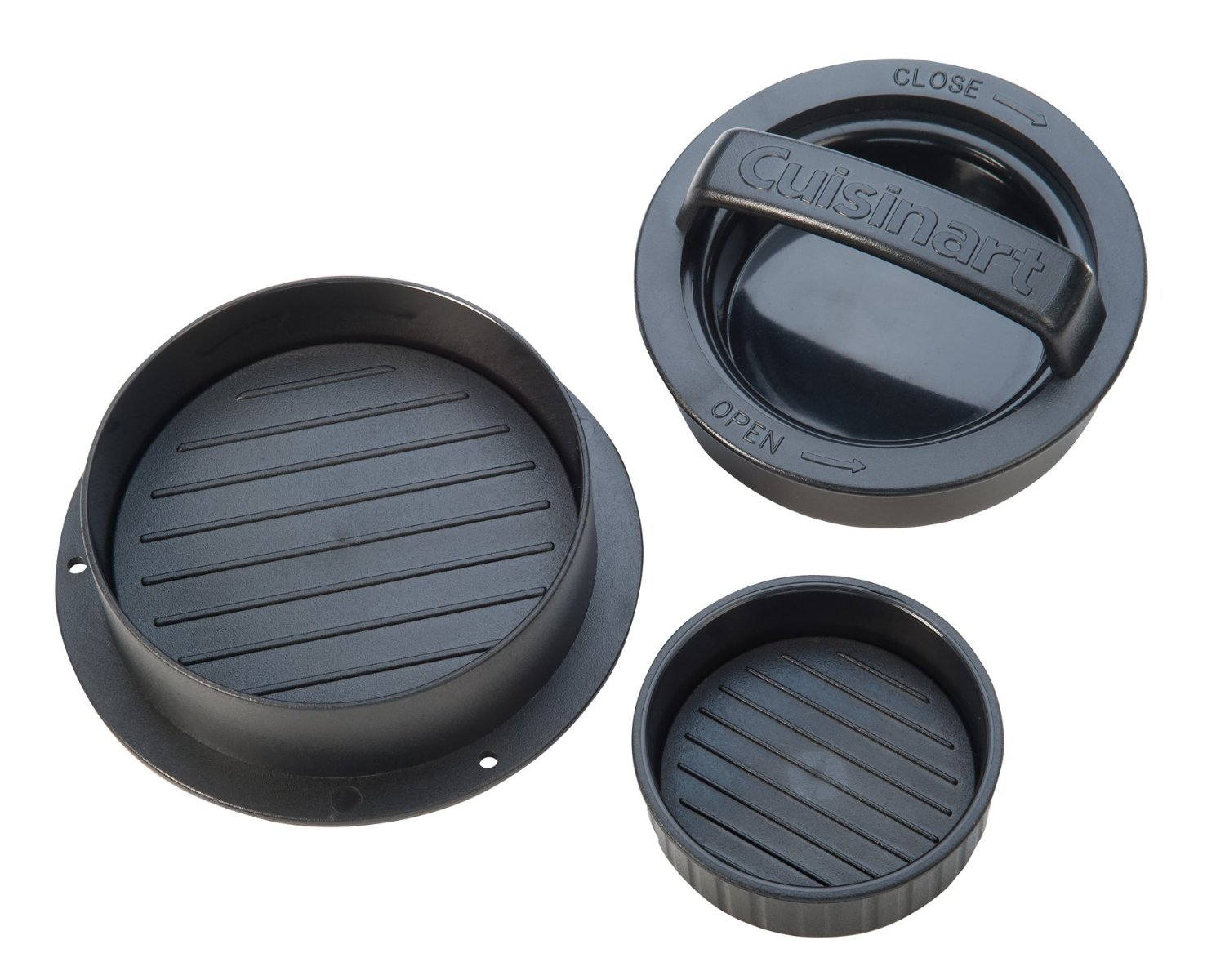 Cuisinart 3-in-1 burger press. ($8)