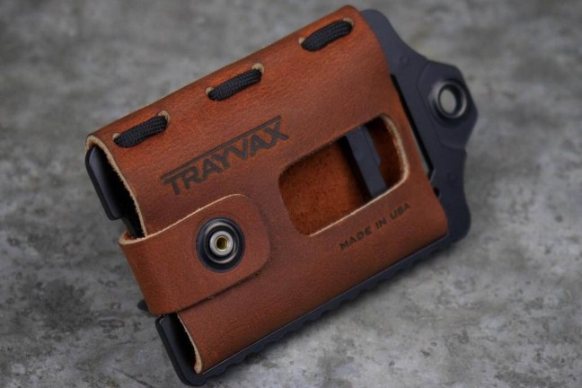 Trayvax's Element wallet/money clip. ($80–$85, depending on colorway)