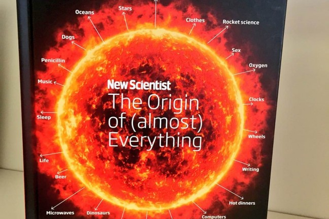 The Origin of (almost) Everything by Graham Lawton and Jennifer Daniel of New Scientist.