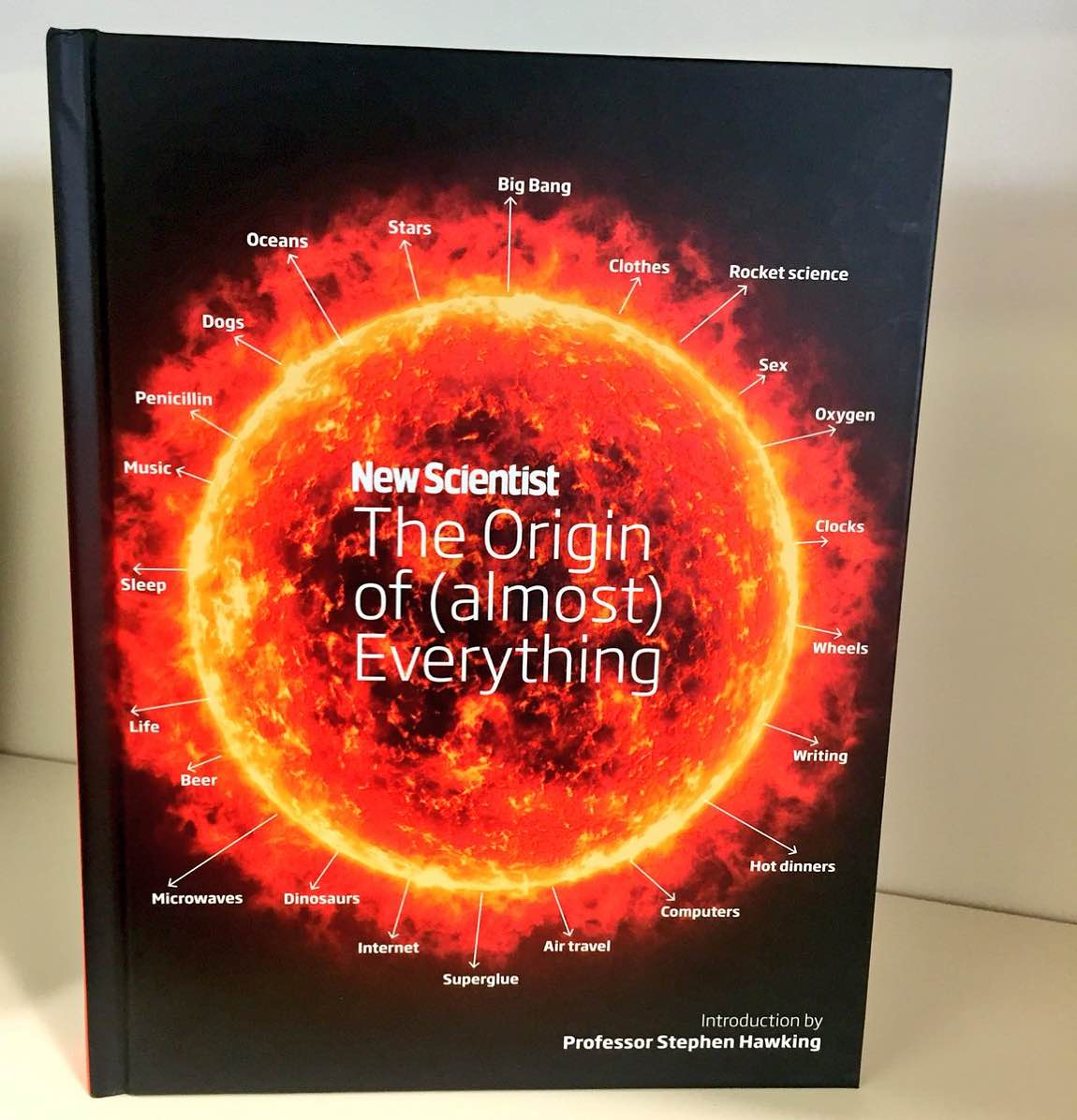 The Origin of (almost) Everything by New Scientist. ($29 hardcover)