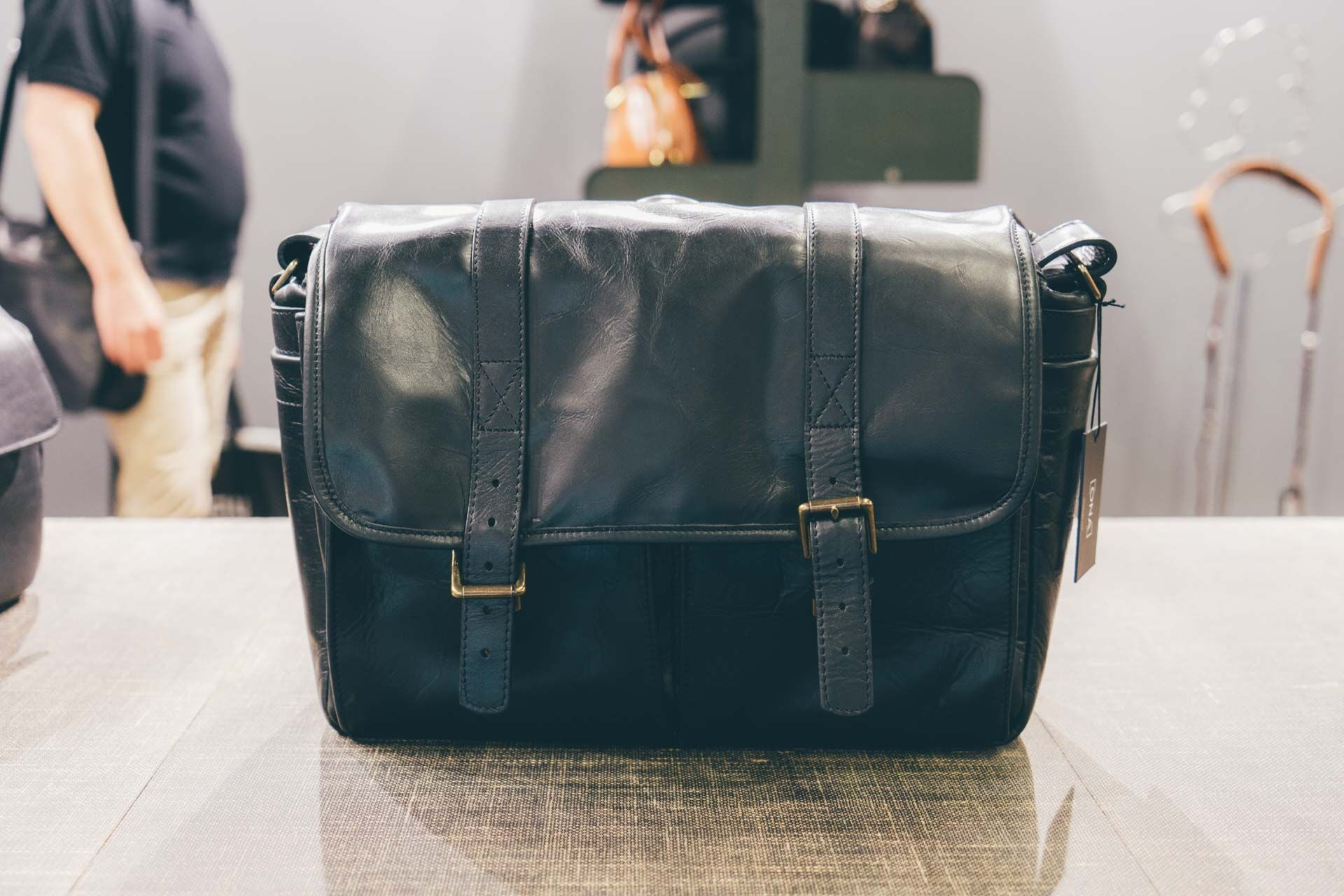 The all-new black [leather Brixton.](https://www.amazon.com/ONA-Brixton-Camera-Messenger-Leather/dp/B01LQV1D16/?tag=toolsandtoys-20)