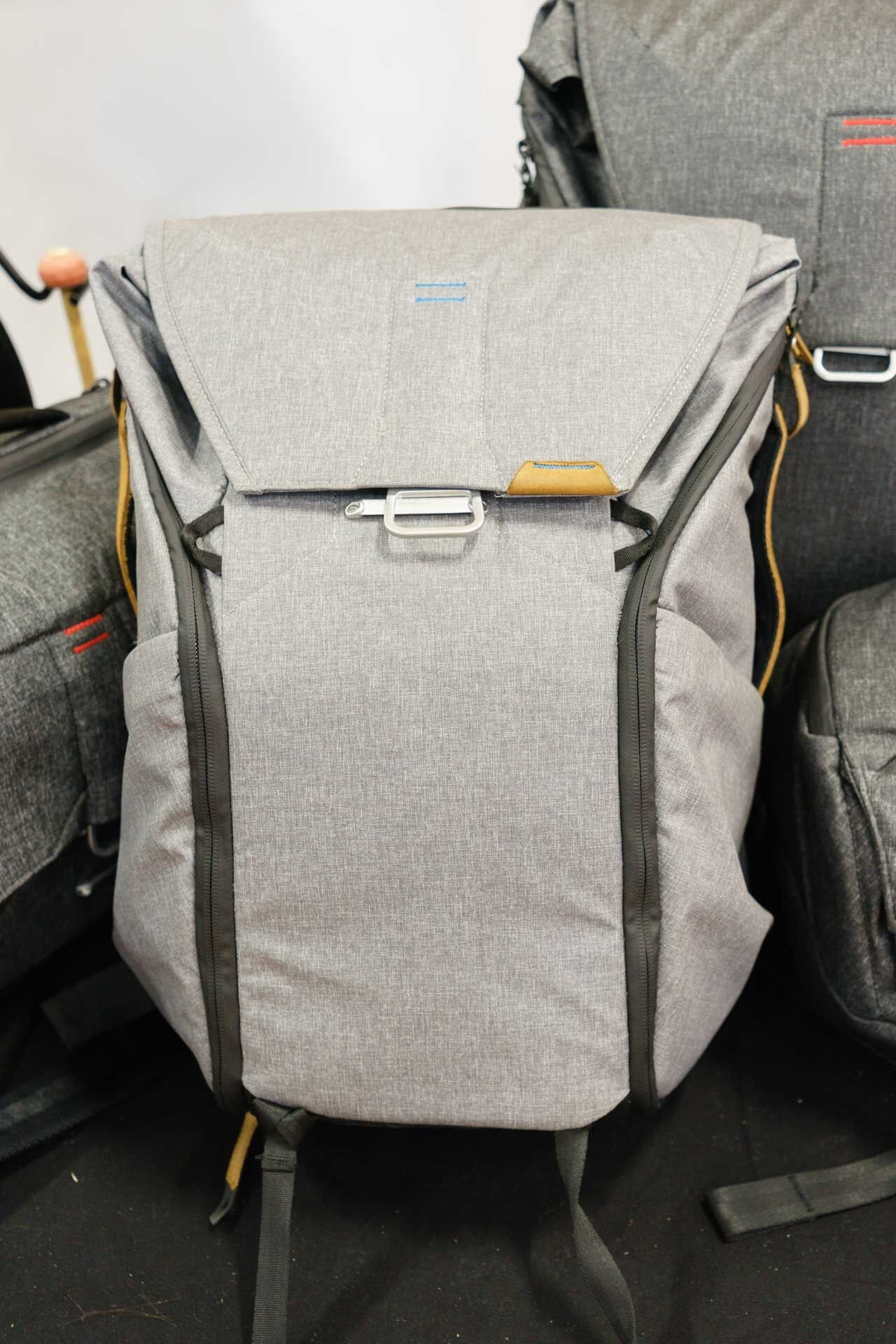 The 20-liter Everyday Backpack in ash.
