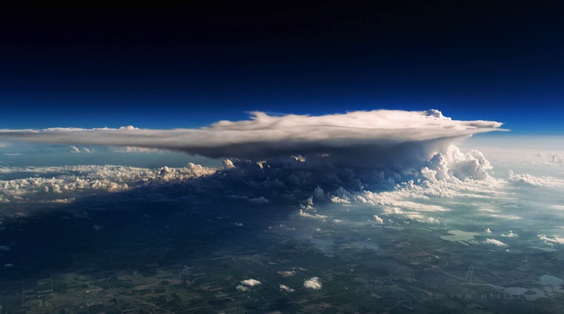 "Photo: ""Thunderstorm Over Minnesota"" by Christiaan van Heijst"