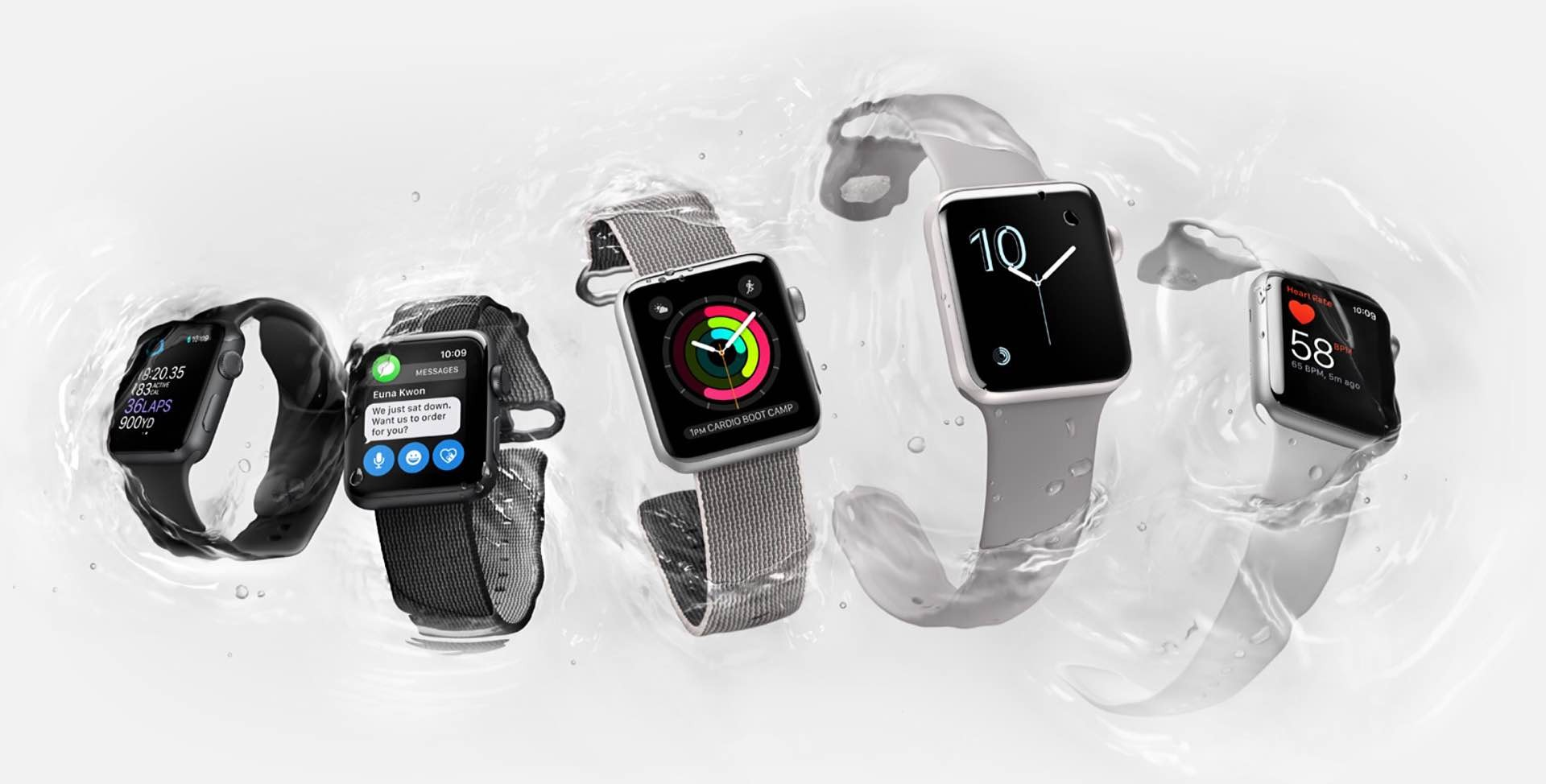 The Apple Watch Series 2. (from $369)