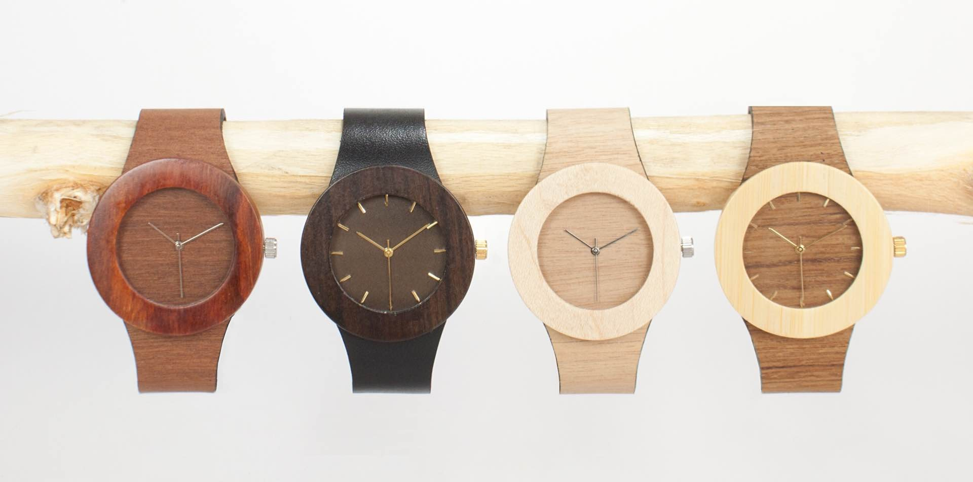 "Analog Watch Co.'s ""Carpenter Collection"" watches. ($150)"