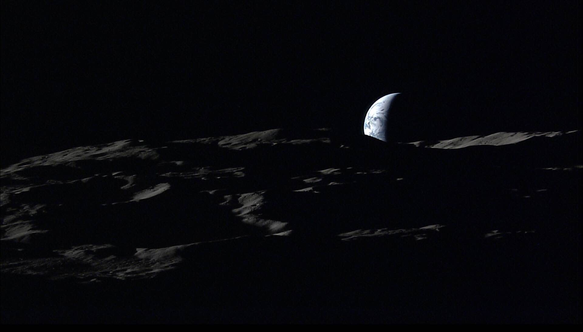 Photo: JAXA / NHK, captured by Kaguya spacecraft on January 2008