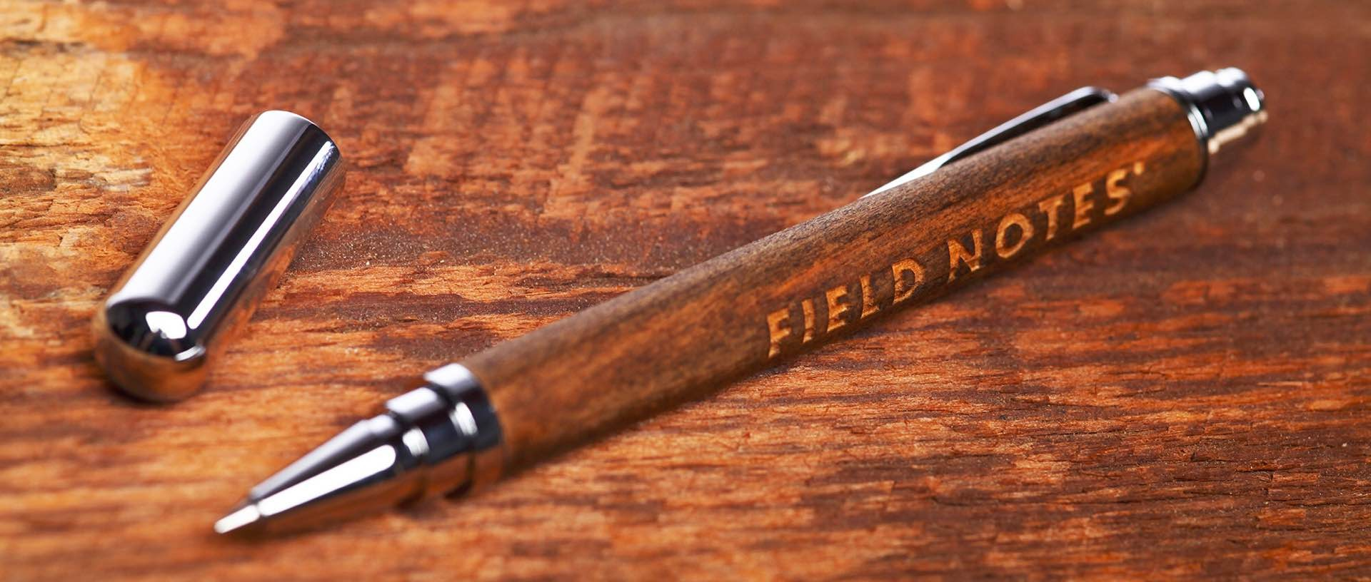 "The Field Notes ""Brand's Hall"" rollerball pen. ($160)"