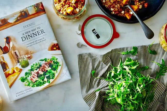 A New Way to Dinner by Amanda Hesser & Merrill Stubbs.