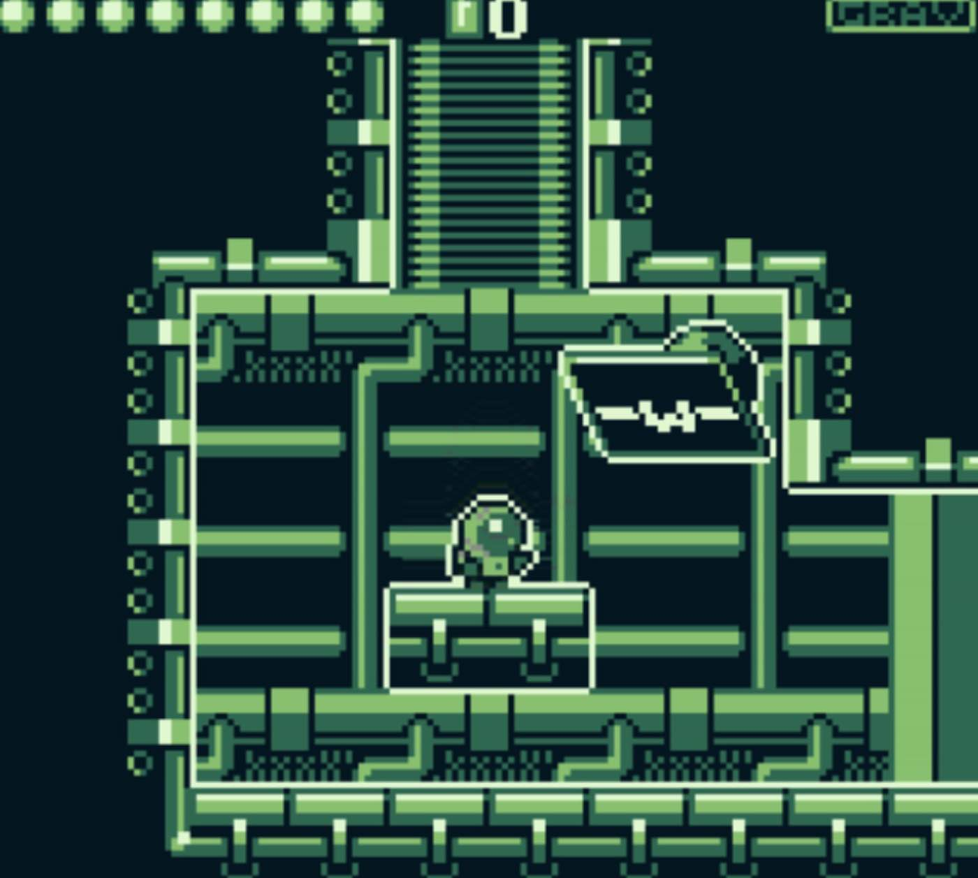 "Screenshot of the Derelict game by Travis ""Programancer"" Adamczyk"