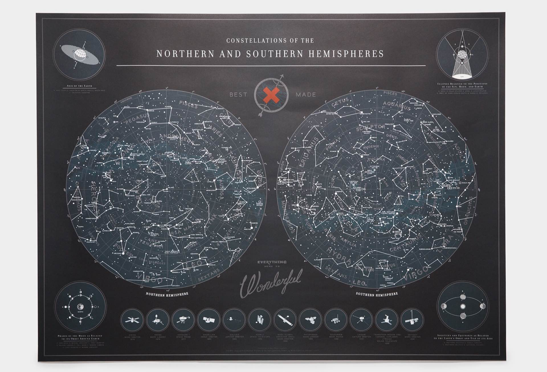 The Map of the Constellations by Best Made Co. ($38)