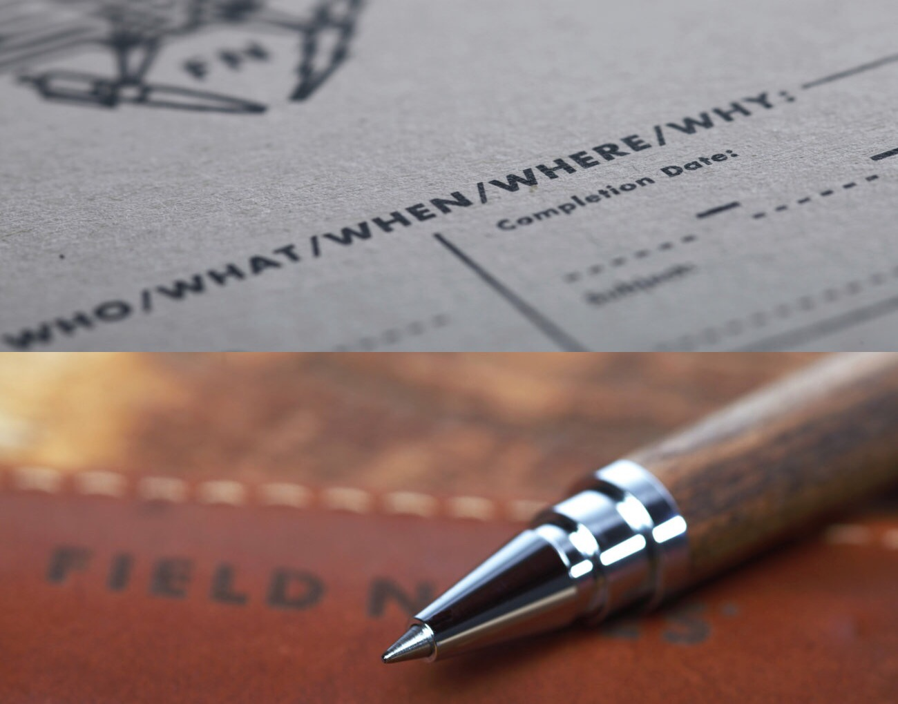 the-field-notes-front-page-notebook-and-brands-hall-rollerball-pen