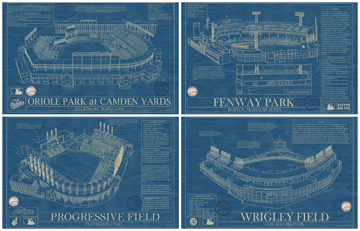 Baseball stadium blueprints tools and toys ballpark bluprints malvernweather Image collections