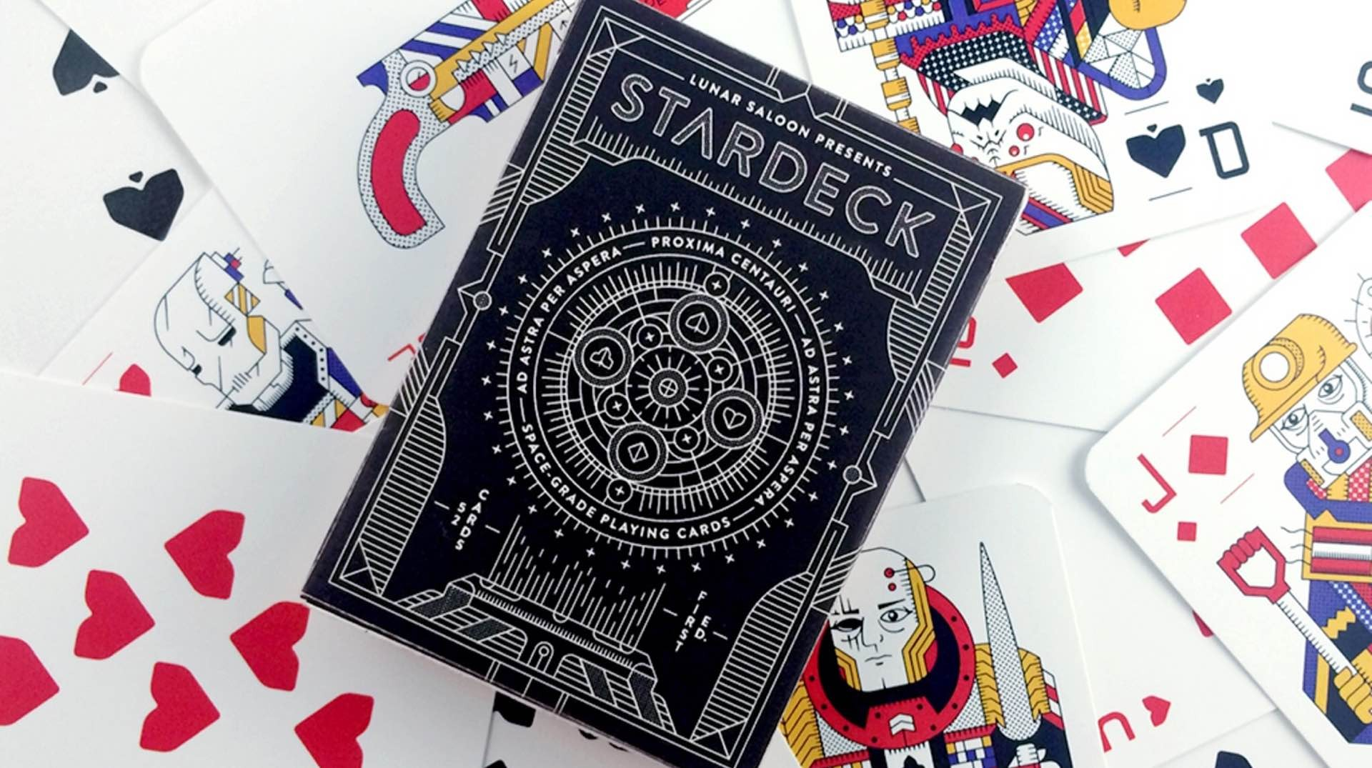Lunar Saloon's STARDECK playing cards. ($15)