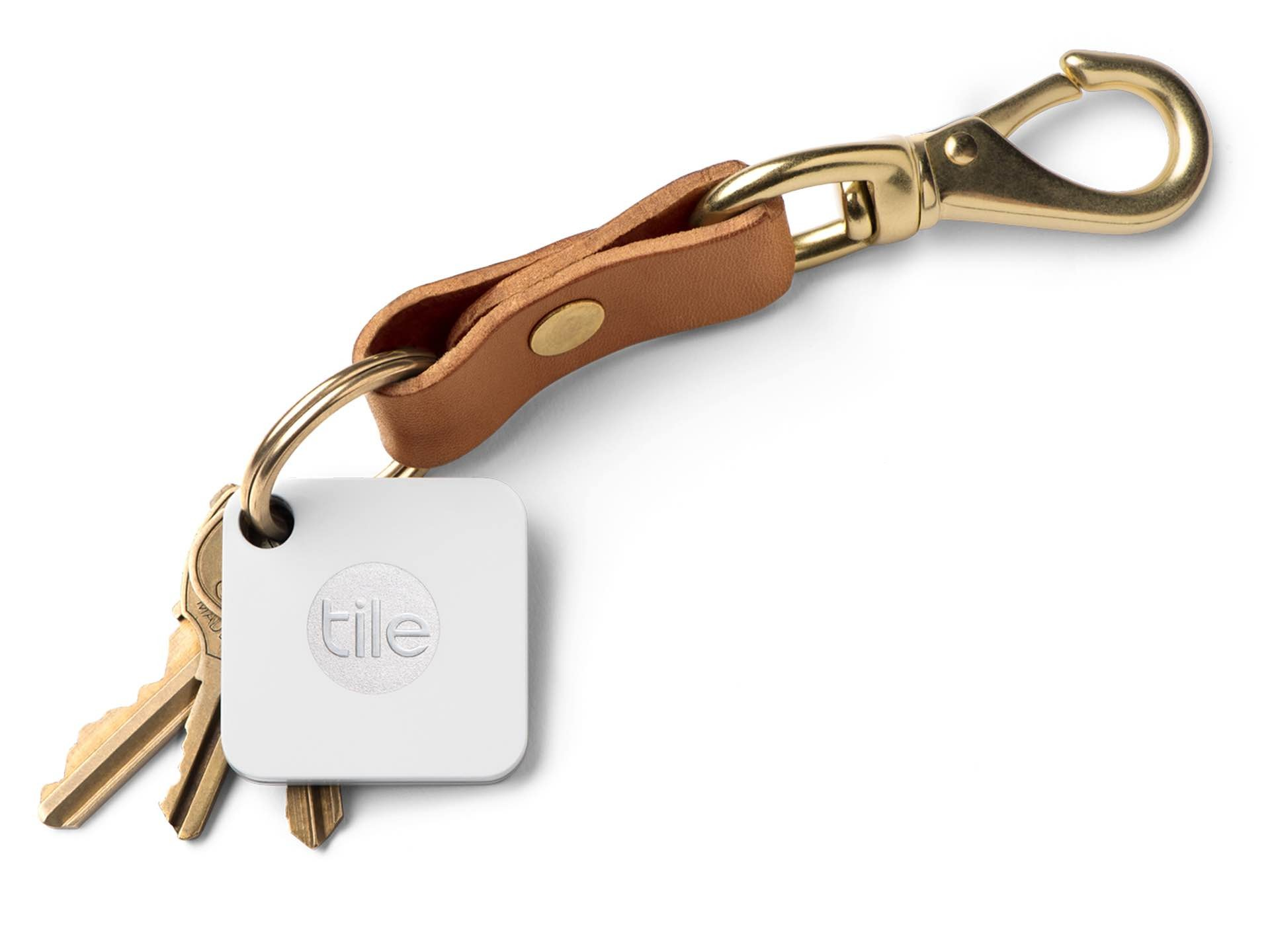 Tile Mate Bluetooth tracker & key finder. ($20 for one, $58 for a 4-pack, or $109 for an 8-pack)