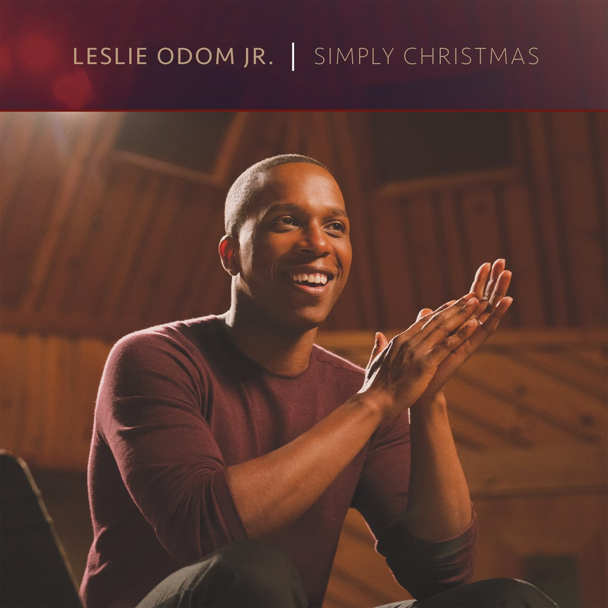 simply christmas album by leslie odom jr