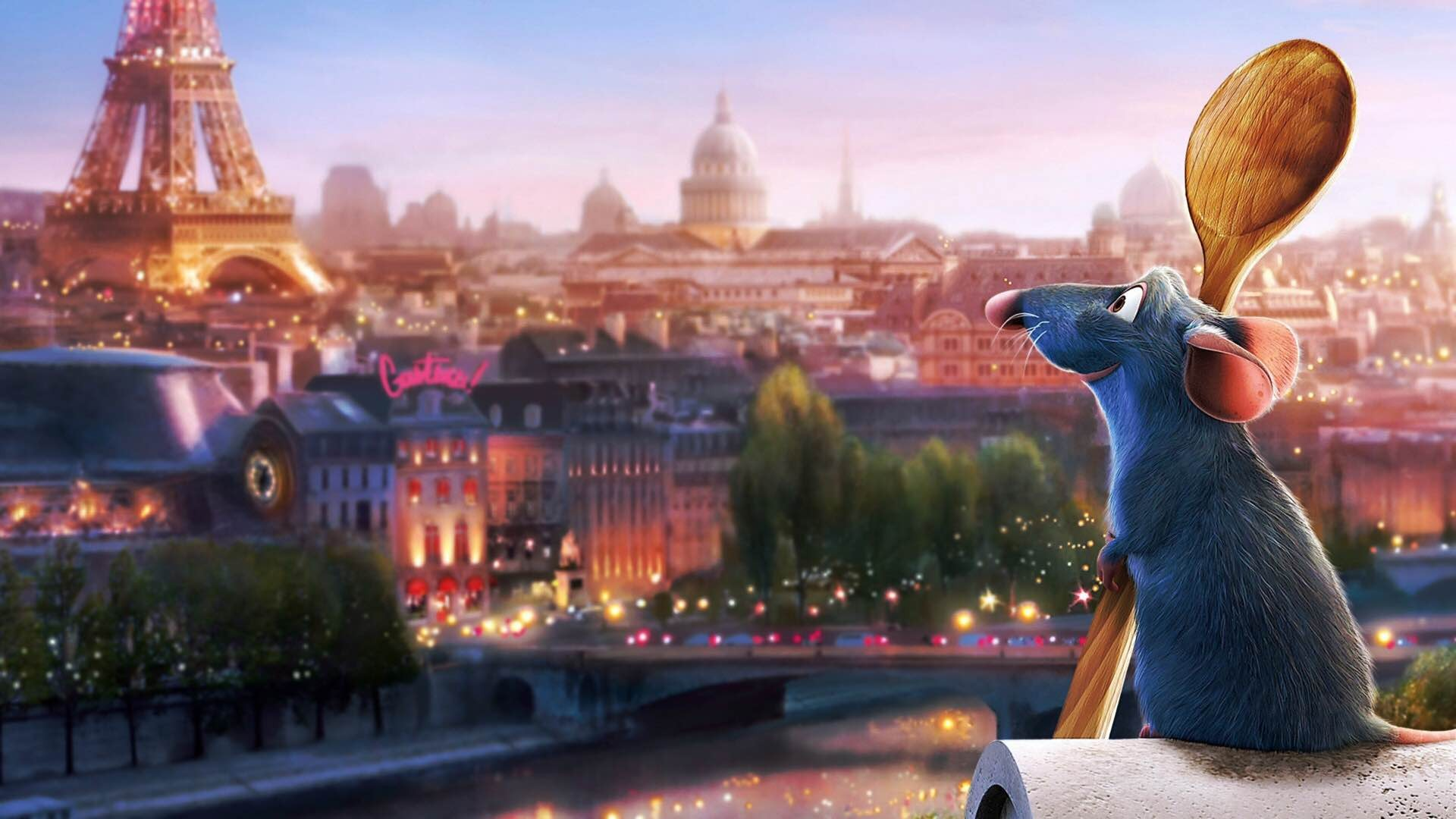 Disney-Pixar's Ratatouille. ($18 for 2-disc Blu-ray/DVD combo pack)