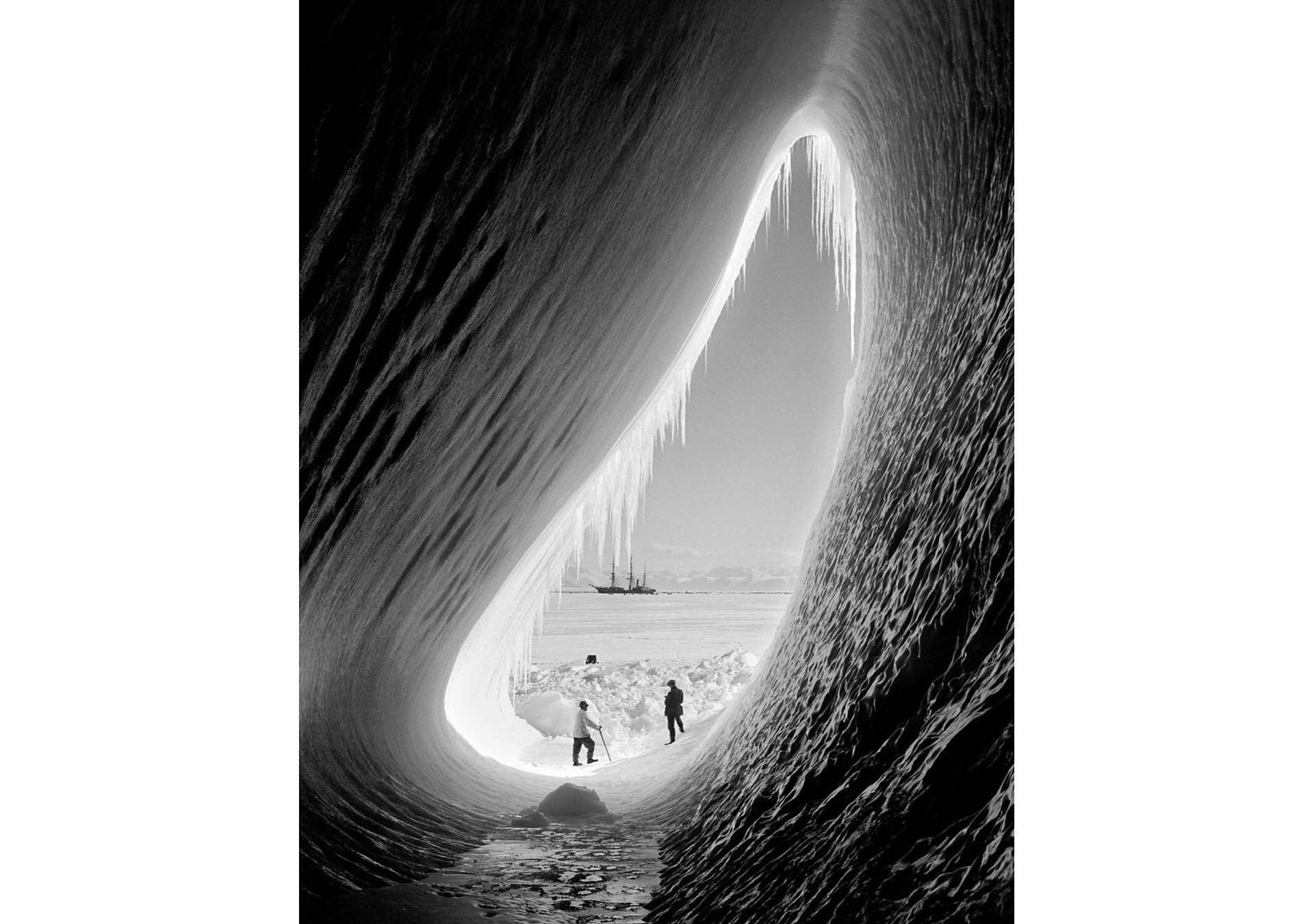 Photo: Herbert Ponting / Scott Polar Research Institute (University of Cambridge)