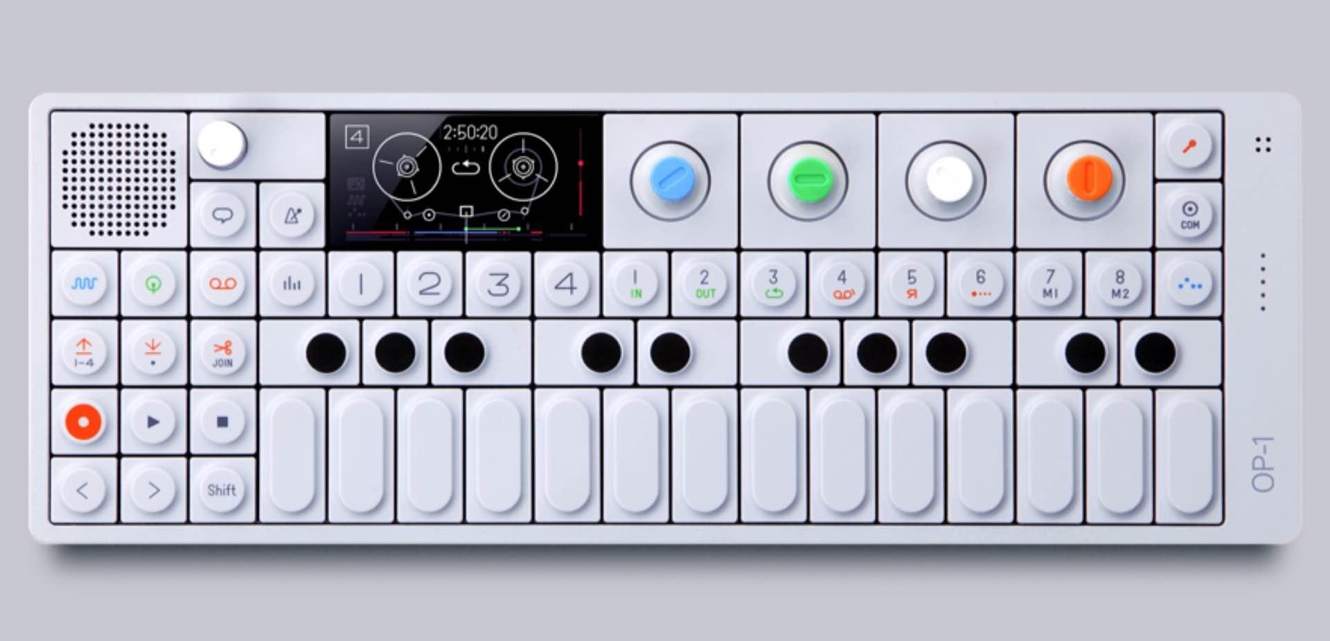 Teenage Engineering OP-1 mini synthesizer. ($1,100)