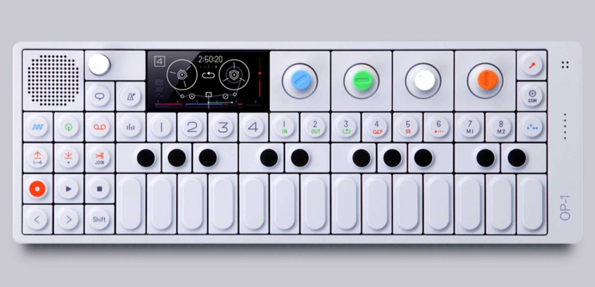 Teenage Engineering OP-1 mini synthesizer. ($1,100)