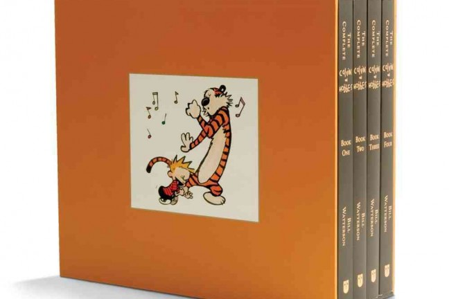 The Complete Calvin and Hobbes by Bill Watterson. ($60 box set)