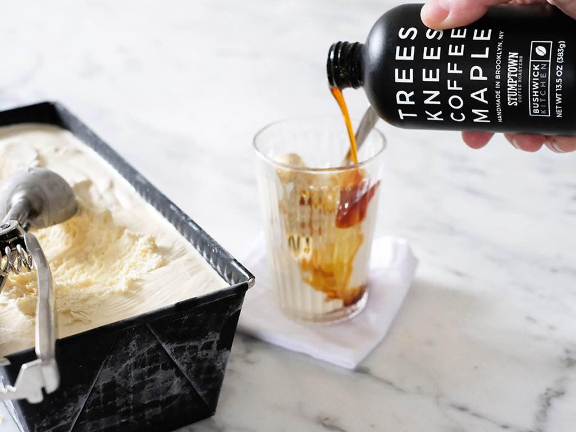 bushwick-kitchen-trees-knees-coffee-maple-syrup-2