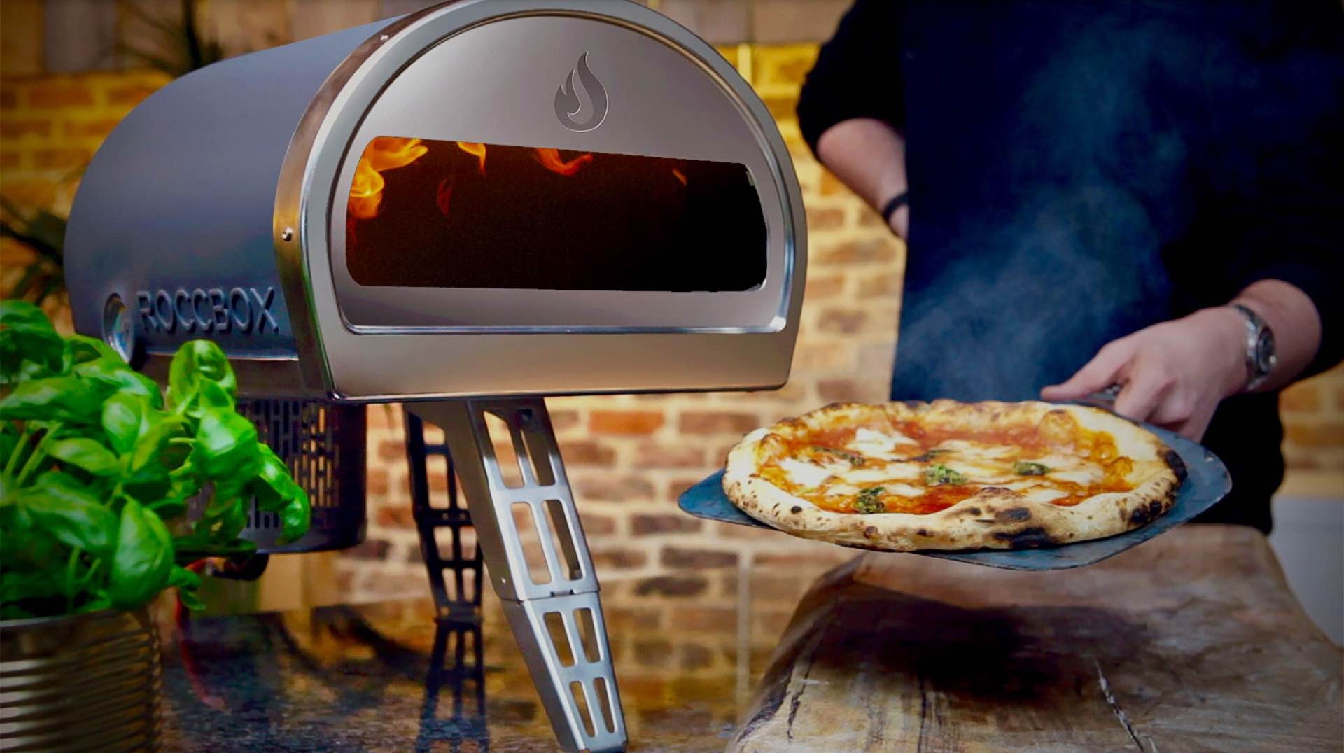 Roccbox outdoor pizza oven. ($599 + $49 shipping)