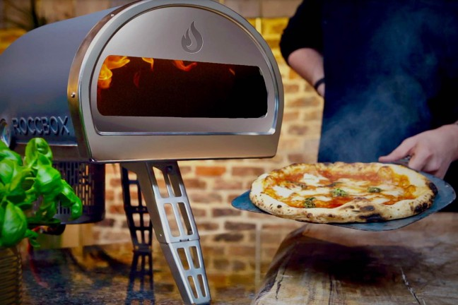 The Roccbox outdoor pizza oven. ($599 + $49 shipping)