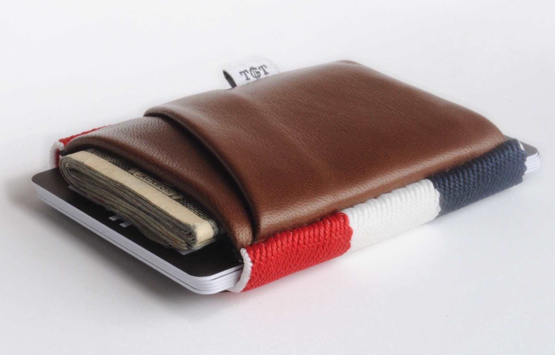 "The TGT wallet. ($36–$46; pictured here is the ""Americana 2.0 Deluxe"")"