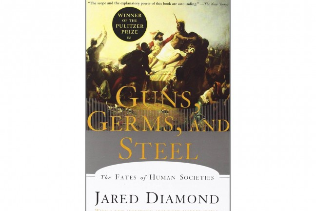 a review of two chapters from the book guns germs and steel by diamond and jared In his runaway bestseller guns, germs, and steel, jared diamond collapse: how societies choose to fail or two hundred articles and his book guns.