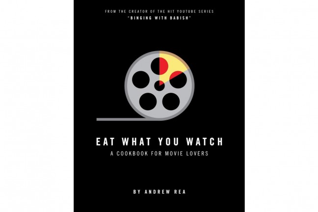 "Eat What You Watch cookbook by Andrew ""Binging With Babish"" Rea. ($17 hardcover)"