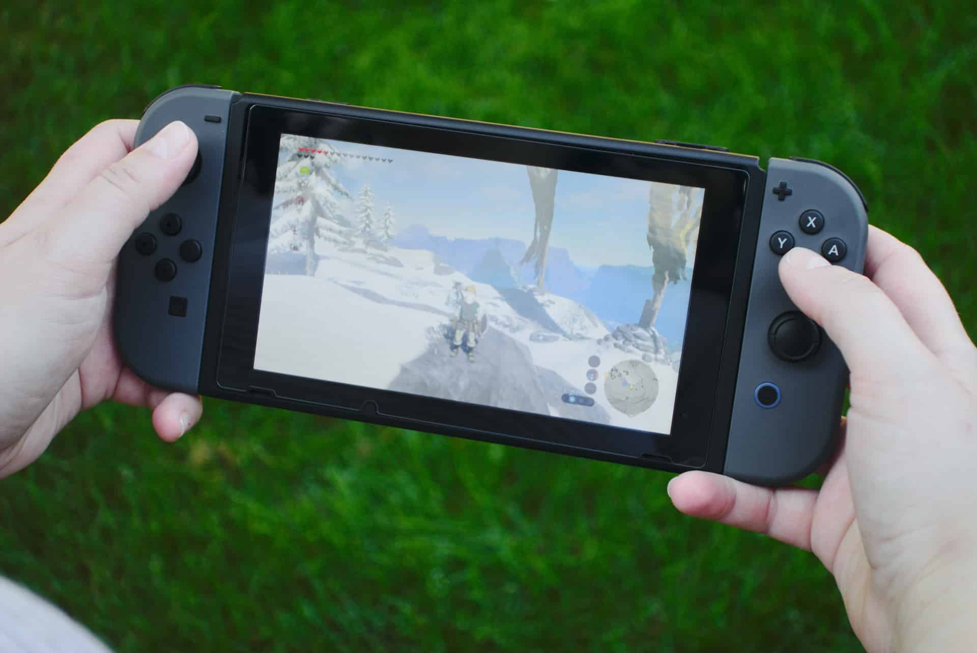 The Nintendo Switch portable gaming console. ($300)