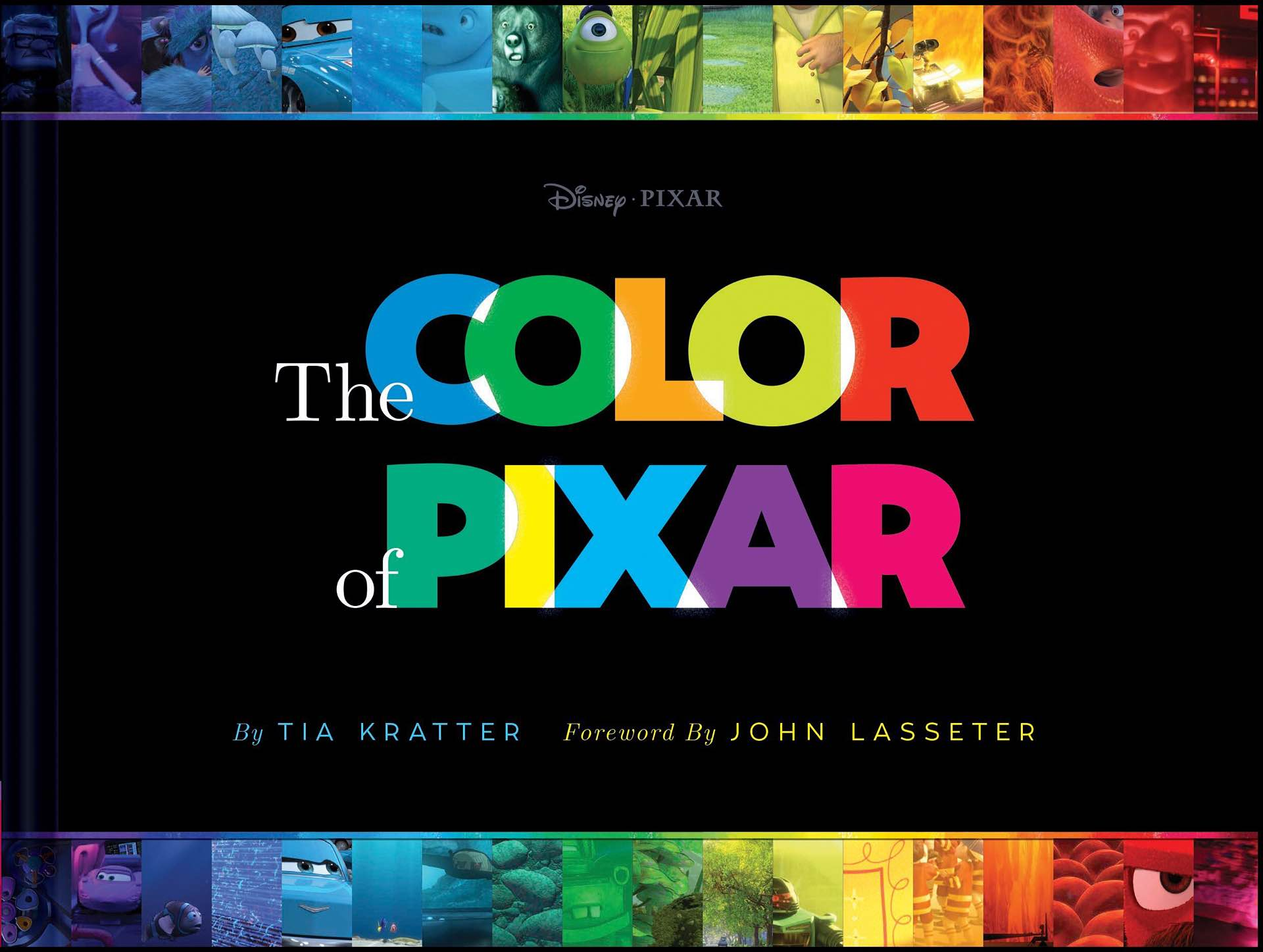 The Color of Pixar by Tia Kratter.  ($21 hardcover)